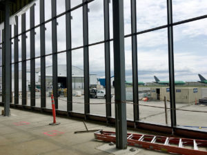 Paine Field Curtain Wall
